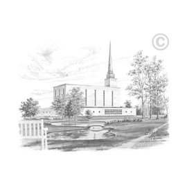 London England Temple - Chad Hawkins, Recommend Holder