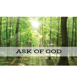 Ask of God (2017 Mutual Theme), Recommend Holder