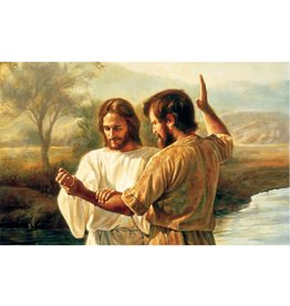Baptism of Christ - Missionary Theme (Greg Olsen), Recommend Holder