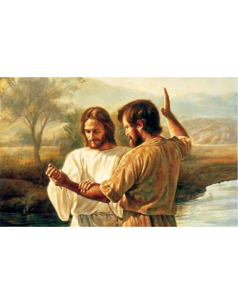 Baptism of Christ - Missionary Theme (Greg Olsen), Recommend Holder