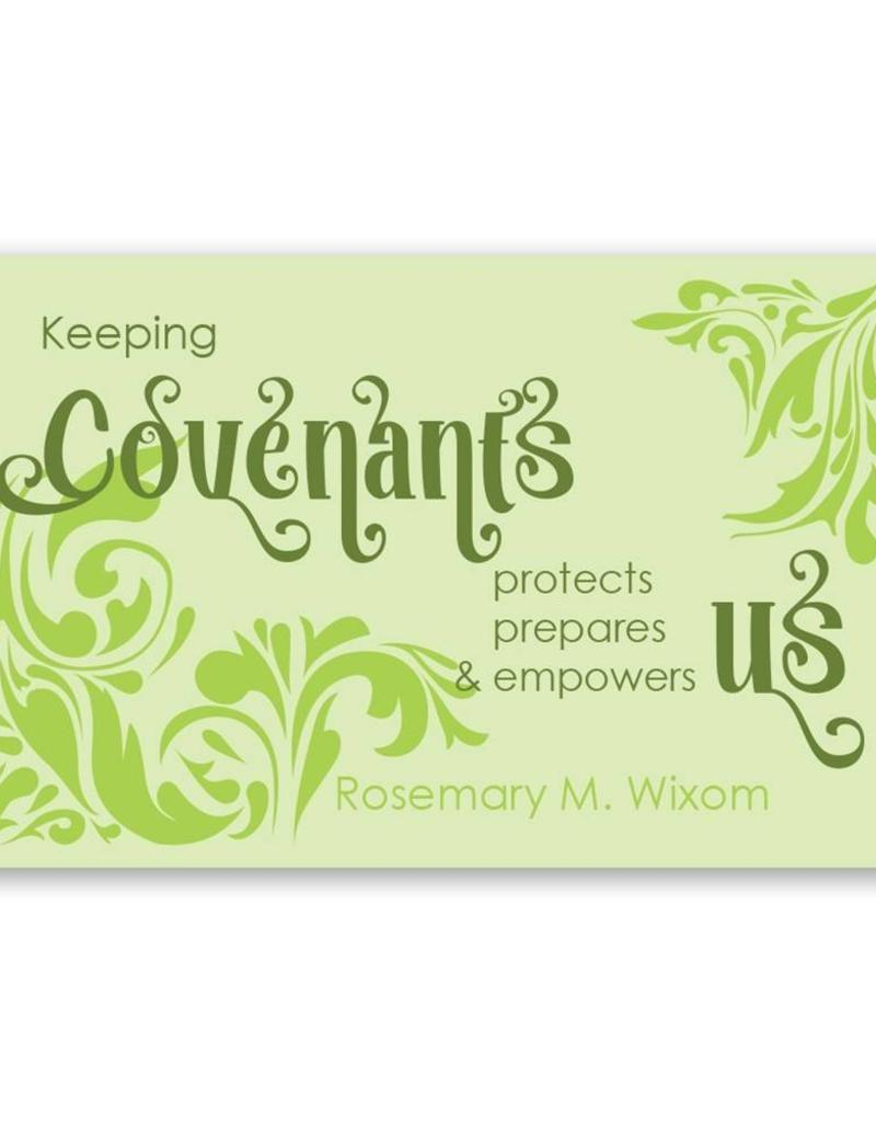 Keeping Covenants , Recommend Holder