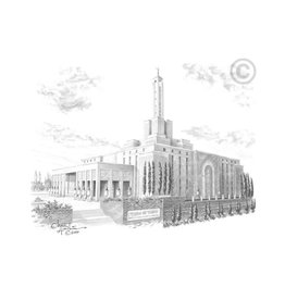 Madrid Spain Temple - Chad Hawkins, Recommend Holder