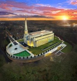 Preston Temple Arial Photo, Recommend Holder **Coming soon - May 2018**