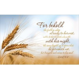 The Great Harvest - Missionary Theme, Recommend Holder