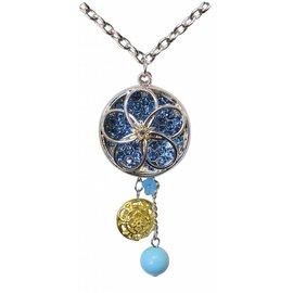 Cedar Fort Publishing Forget me not necklace