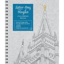 Deseret Book Company (DB) Latter-day Temples Colouring Book, Conlin
