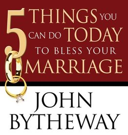 5 Things You Can Do Today to Bless Your Marriage, Bytheway (CD)