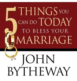 Deseret Book Company (DB) 5 Things You Can Do Today to Bless Your Marriage, Bytheway (Talk on CD)