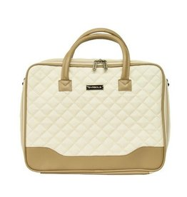 Anna (cream/tan) Temple Tote