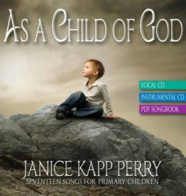 As A Child of God by Janice Kapp Perry (Music CD)