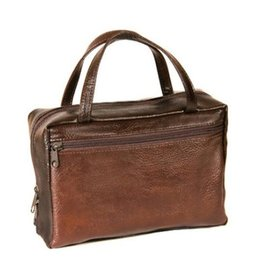 Avery Faux Leather Regular Brown