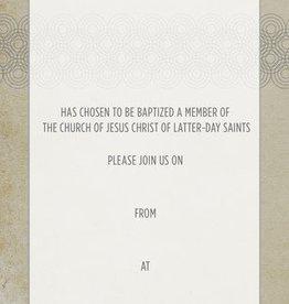 Baptism Announcement Adult