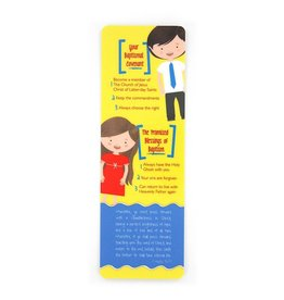 Baptism covenant promises and blessings bookmark