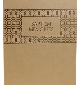 Baptism Memories Journal and Book