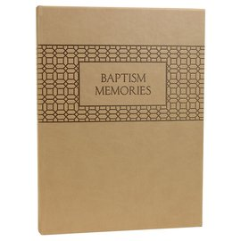 Deseret Book Company (DB) Baptism Memories Journal and Book