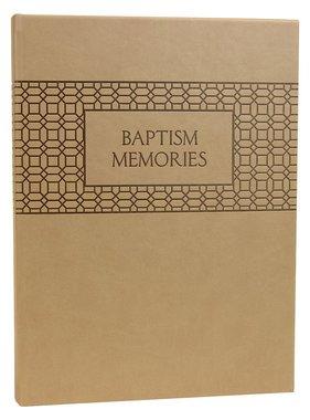 Baptism Memories Journal and Book