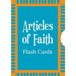 Deseret Book Company (DB) Articles of Faith Flash Cards