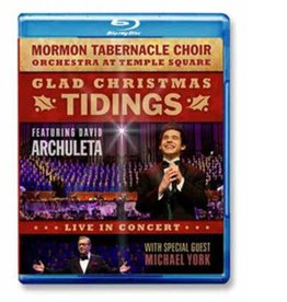 Glad Christmas Tidings: Live in Concert Blu-ray Edition, Mormon Tabernacle Choir/David Archuleta