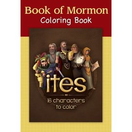 Deseret Book Company (DB) Book of Mormon Colouring Book - Ites
