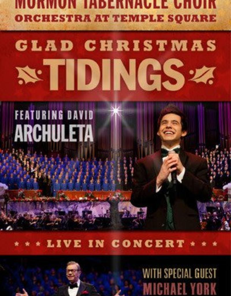 Lds Christmas Concert.Glad Christmas Tidings Live In Concert Mormon Tabernacle Choir David Archuleta