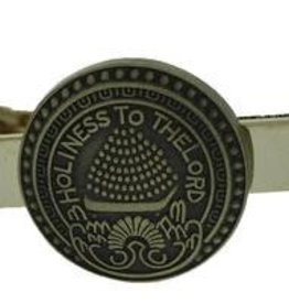 Holiness To The Lord Brass Tie Bar