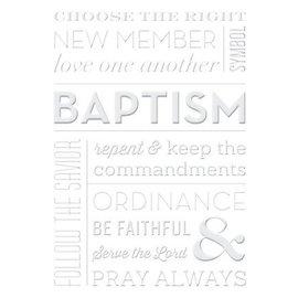 Baptism Greeting Card by Milestone Greetings