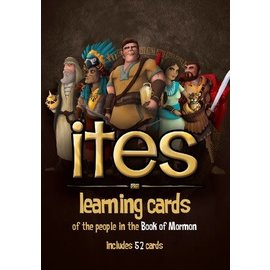 Deseret Book Company (DB) Learnings Cards Ites: An Illustrated Guide to the People in the Book of Mormon, Butler/Jeppesen
