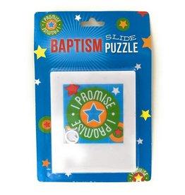 Baptism Slide Puzzle (Blue)