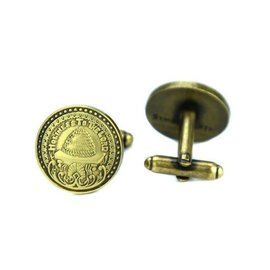 Holiness To The Lord Brass Cufflinks
