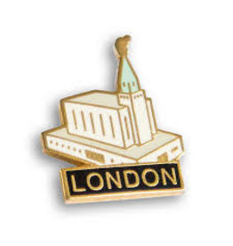 London Temple Pin