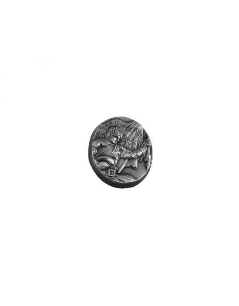 Captain Moroni Tie Pin Silver
