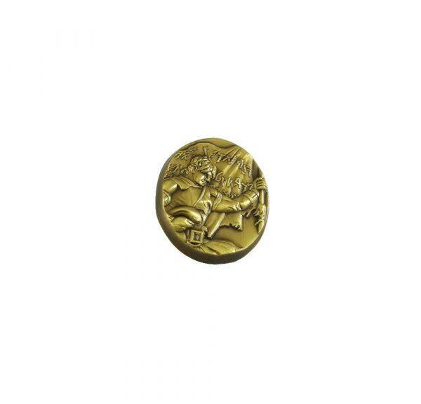 Captain Moroni Tie Pin Gold