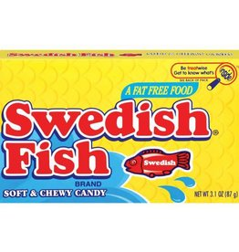 Swedish Soft & Chewy Fish Candy Boxes, 3.1 oz