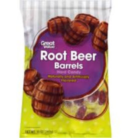 Great Value Root Beer Barrels Hard Candy, 10 oz