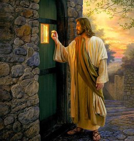 5x7 Print Let Him In by Greg Olsen