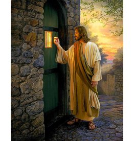 "Let Him In. by Greg Olsen. 5""x 7"" Print"