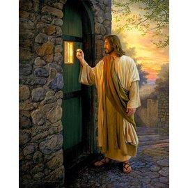 "Let Him In. by Greg Olsen. 5""x 7"" Print"