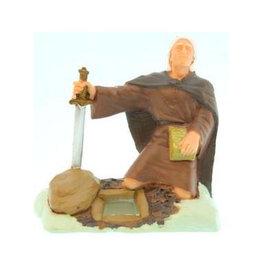 "3""Figure. Moroni, burying gold plates."