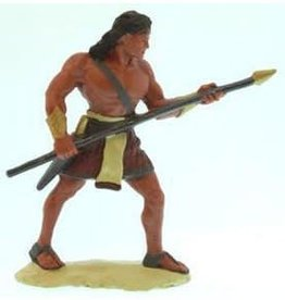 "3""Figure. Stripling Warrior, Red"