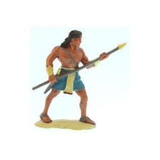 "Latterday Designs 3""Figure. Stripling warrior, Blue."