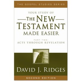 Cedar Fort Publishing Your study of The New Testament Made Easier, Part 2, David J Ridges