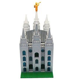 "Brick'em Young Small Salt Lake Temple, Brick'em Young, 10"" high."