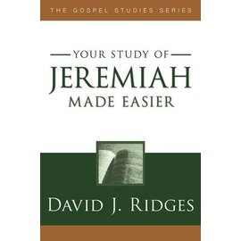 Cedar Fort Publishing Your study of Jeremiah Made Easier, David J Ridges
