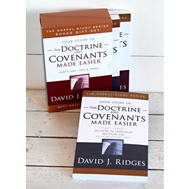 Cedar Fort Publishing Your study of The Doctrine and Covenants Made Easier, Box set, David J Ridges