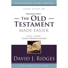 Cedar Fort Publishing Your study of The Old Testament Made Easier, Part 3: Second Edition, David J Ridges