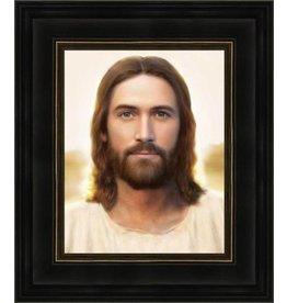 Brent Borup - Artist The Light of The World. Brent Borup, 12x14 framed textured print