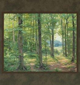 Linda Curley Christensen Sacred Grove 1907. Linda Curley Christensen. 11x14 mat