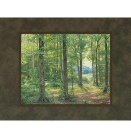 Sacred Grove 1907. Linda Curley Christensen. 11x14 mat