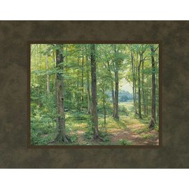 Linda Curley Christensen - Artist Sacred Grove 1907. Linda Curley Christensen. 11x14 mat