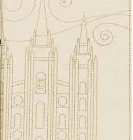 Stitched Temple Journal. Cream